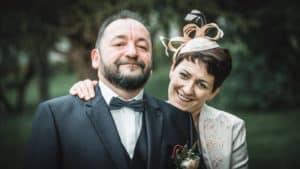 Hochzeitsfeier von Barbara und Heiko. Immer mehr Paare wünschen sich die etwas andere, ganz individuelle Hochzeit als Alternative zur kirchlichen Trauung. Außergewöhnlich, kreativ und individuell wie das Paar selbst.